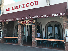 El Galleon. An island favorite serving signature meals and beverages the el galleon way