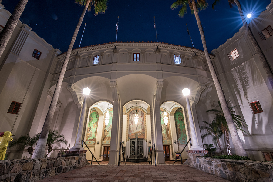 Tour in the Historic Catalina Casino