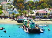 The Catalina Island Green Pleasure Pier