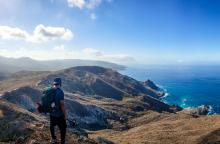 Hiking catalina island's backroads
